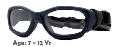 Rec Specs F8 Slam Goggles in Navy Blue - Suitable for Kids Aged 7 to 12