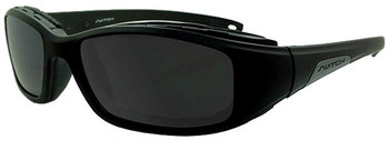 (1) Liberty Sport Switch STORMRIDER Prescription Sports Sunglasses in Shiny Black