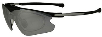(1) F Morys MS035 Prescription Sports Sunglasses in Black