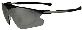 (1) F Morys MS035 Prescription Sports Sunglasses in Black