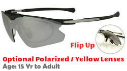 F Morys MS035 Flip Up Rxable Sunglasses