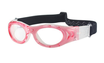 (1) M2P Kids Prescription Sports Goggles MP046 in Pink