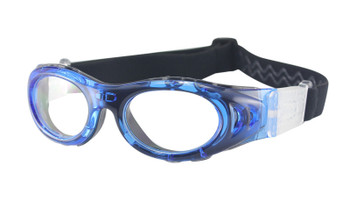 (1) M2P Kids Prescription Sports Goggles MP046 in Blue