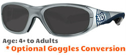 Rec Specs F8 Street Series Bullseye Ripple Prescription Sunglasses Suitable for Ages 4 to 12 Yr