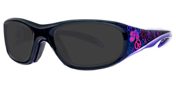 (1) Rec Specs F8 Street Series Peace and Luv Sunglasses Eye Size 48 51 and 53