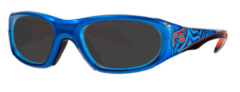 (1) Rec Specs F8 Street Series Electric Wave in 48 51 and 53 Eye Sizes
