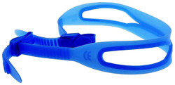 (1) Replacement strap for kids swim goggles Blue