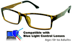 Ashton - Gold Glasses: Compatible with Optional Blue Light Control Lenses