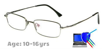 Boston - Titanium Prescription Glasses in Silver