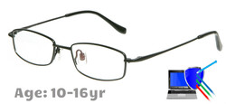 Boston Titanium Prescription Glasses - Black