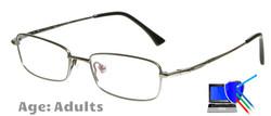 Dallas Titanium Prescription Glasses - Gunmetal