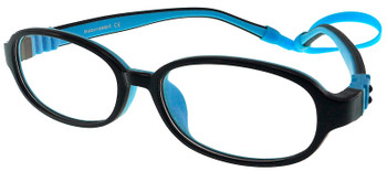 Kids Glasses G213 Black Blue  together with Strap and Ear Hooks