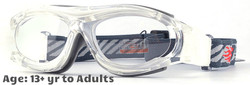 Prescription Sports Goggles BL028 Clear Grey