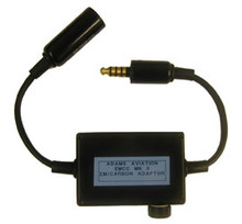 Adams EMCC MKII Adaptor for Matching Military Headsets with Civil Radios - Nato to Nato
