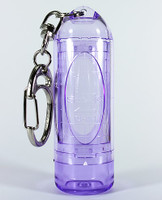 L-Style Lipstock Tip Case - Clear Purple