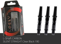 L-Shaft Carbon Silent - 190 - Black