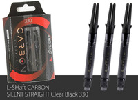 L-Shaft Carbon Silent - 330 - Black