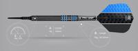 Target Vapor 8 Black - Blue - Soft Tip Darts - 18g