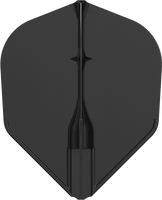 L-Style - Champagne Flights - Shape (L3c) Integrated - Black