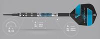 Target Daytona Fire GT-10 Soft Tip Darts - 18g