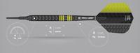 Target Vapor8 Black - Yellow - Soft Tip Darts - 18g