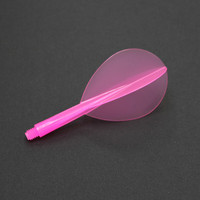 Condor Zero Stress Flight System - Teardrop - Clear Pink - Short