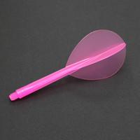 Condor Zero Stress Flight System - Teardrop - Clear Pink - Long