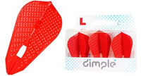 L-Style - Champagne Flights - Fantail (L9d) Dimple - Red