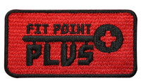Fit Point Plus Embroidered Patch