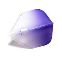 L3 PRO Shape Champagne Flight - Clear White with Purple