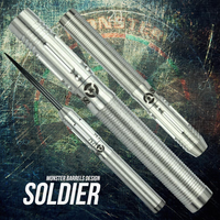 Monster Soldier Steel Tip Darts - 18g (clearance)