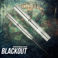 Monster Blackout Steel Tip Darts - 20g