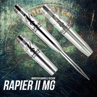 Monster Rapier II MG Steel Tip Darts - 22g