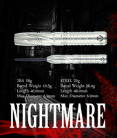 Monster Nightmare Steel Tip Darts - 22g