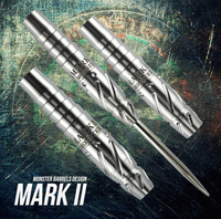 Monster Mark II Steel Tip Darts - 21g (clearance)