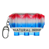 L-Style Tri Color KRYSTAL Flight Case by Natural Nine - Blue Hawaii