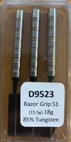 Designa Razor Grip - Soft Tip Dart - 18g - 85% Tungsten - S1