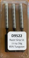 Designa Razor Grip - Soft Tip Dart - 16g - 85% Tungsten - S1