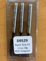 Designa Razor Grip - Soft Tip Dart - 18g - 85% Tungsten - S3