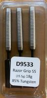 Designa Razor Grip - Soft Tip Dart - 18g - 85% Tungsten - S5