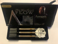 "Dynasty A-Flow - Limited Edition - Leonard Gates ""Assegais"" Steel Tip Darts - 20.5g"