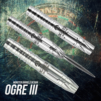 Monster Ogre III Steel Tip Darts - 22g (clearance)