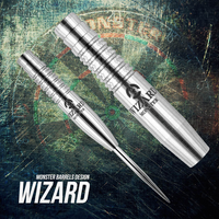 Monster Wizard Steel Tip Darts - 22g (clearance)