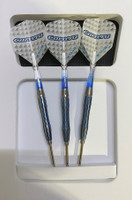 Target Carrera Azzurri Cortex CX2 Steel Tip Darts - 22g (open box)