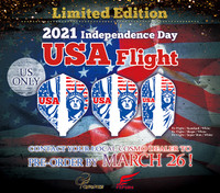 Cosmo 2021 Limited Edition Independence Day Flights - Shape