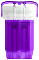Cosmo Fit Case-X - Clear Purple
