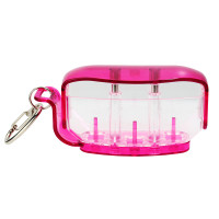 Fit Holder - Clear Pink