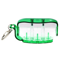 Fit Holder - Clear Green