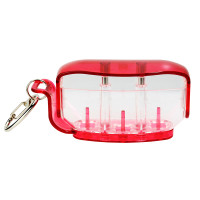 Fit Holder - Clear Red