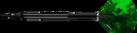 Designa Razor Grip V2 - Soft Tip Dart - 22g - 90% Tungsten - Model 1 Black
